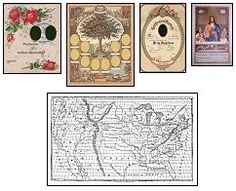 Printable Mini Victorian documents & wall art