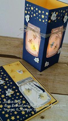 KathieLovesStamping.wordpress.com    Stampin Up; Jar of Love stamp set; Everyday Jars framelits