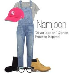 """Namjoon's """"Silver Spoon"""" Dance Practice Inspired Outfit"""