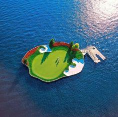 Bem Legaus!: Ilhota de golfe