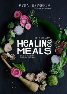 Healing Meals by Kyra de Vreeze: contains 25+ recipes, every one of them centered around one single easy-to-get & affordable ingredient. i share which cooking techniques will enhance their magic & nutritional value & i show you other foods to combine them with. on top of that i present a straight forward list of their mindblowing medicinal benefits. Kyra http://www.pinterest.com/kyraskitchen is member of Vegan Community Board http://www.pinterest.com/heidrunkarin/vegan-community