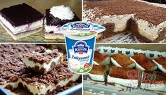 16 skvělých receptů na dezerty ke kafíčku se ZAKYSANOU SMETANOU | NejRecept.cz Snack Recipes, Cooking Recipes, Kefir, Pop Tarts, Nom Nom, Nutella, Cereal, Food And Drink, Sweets