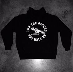 Own The Ground You Walk On - Streetwear. RRP $79.95   Link to shop:  https://ownthegroundyouwalkon.com/