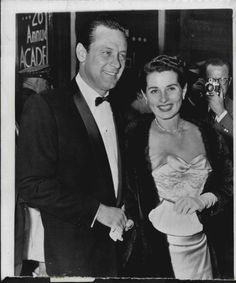1954 MR AND MRS WILLIAM HOLDEN ARRIVE FOR AWARDS WIRE PHOTO | eBay
