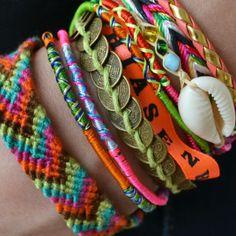 Les bracelets brésiliens Hipanema... Definitely my new obsession