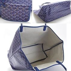 Goyard-st-louis-tote-Dark-Blue