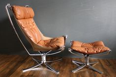 Falcon chair by Sigurd Reseal