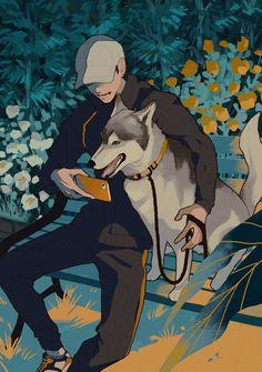 Kunst Inspo, Art Inspo, Art And Illustration, Pretty Art, Cute Art, Aesthetic Art, Aesthetic Anime, Manga Art, Anime Art