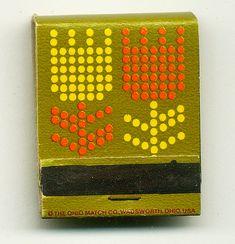 Saul Bass | vintage matchbook graphic design