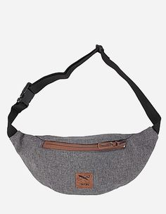 iriedaily - Allied 154 Hip Bag anthra mel