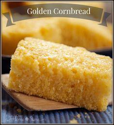 Cornbread Recipe | Food Storage Recipes | Quick Golden Cornbread | Thrive Life | Quick Bread Recipe