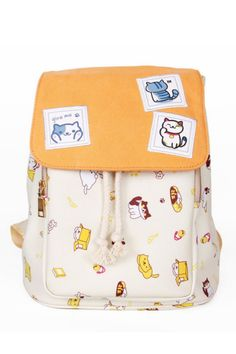 Neko Atsume Cat Anime Backpack