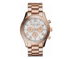 Reloj para mujer Elina, oro rosa - Ø4,4 cm