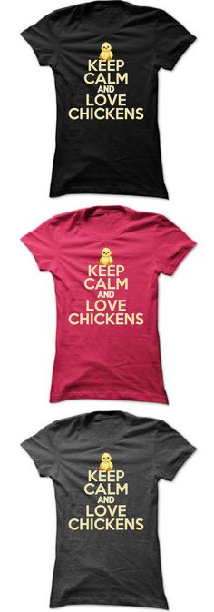 Love chickens? Wear this superior quality & super comfy t-shirt during feed time, when cleaning your coop, or gathering eggs! Ladies sizes S, M, L, XL, 2XL, 3XL. Only $23 while supplies last!