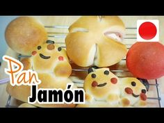 Receta pan relleno de jamón cute Kawaii súper fácil sin huevo/ desde Japón para ti - YouTube