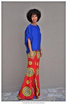 Sonia Rolland for Kigali Fashion Week