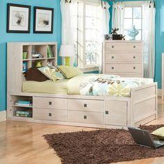 kids bedroom storage idea