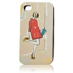"Capa para iPhone ""Garance Girl"" - Kate Spade"