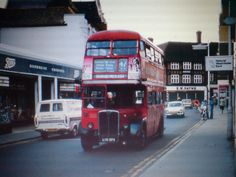 Market Square - Bromley Kent (now part of Greater London) Vintage London, Old London, Old Pictures, Old Photos, Rt Bus, Routemaster, Bus House, London Bus, London Transport