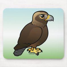 Shop Golden Eagle Mouse Pad created by birdorable. Funny Birds, Cute Birds, Bird Drawings, Easy Drawings, Eagle Bird, Golden Eagle, Custom Mouse Pads, Beautiful Birds, Baby Animals