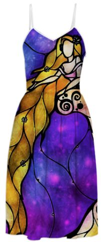 Rapunzel Summer Dress created by mandiemanzano Disney Prom, Disney Day, Disney Tangled, Tangled Rapunzel, Hipster Rapunzel, Rapunzel Outfit, Disney Dresses, Disney Outfits, Disney Clothes