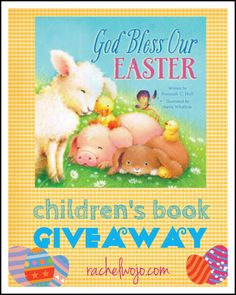 God Bless Our Easter Children's Book Giveaway - RachelWojo.com