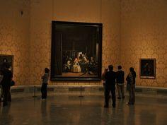 Las Meninas in the Prado Museum, Madrid, Spain