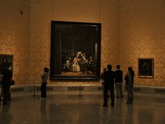 Las Meninas in the Prado Museum, Madrid, Spain