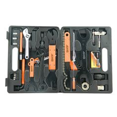 44 in 1 Bike Bicycle Repairing Tool Kit Set Multi Tools Toolbox Case For Outdoor Cycling Refix