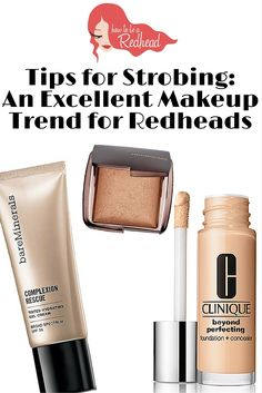 Tips for Strobing: An Excellent Makeup Trend for Redheads