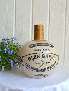 Antique Whiskey jug Glen Garry collectors by GrannyHannasCottage, $85.00