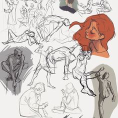 Recorded some of me drawing in Fews (a figure drawing club at RCAD)  Decided that I wanted to share :D! Figure drawing definitely helps my drawing improve ✨ I encourage you to go to a figure drawing session if they are near by you