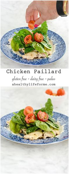 Chicken Paillard with Lemon Salad - A Healthy Life For Me