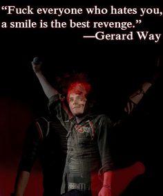 Best quotes lyrics my chemical romance gerard way ideas Mcr Quotes, Mcr Memes, Band Quotes, Band Memes, Qoutes, Romance Quotes, Funny Quotes, Life Quotes, Hes Mine
