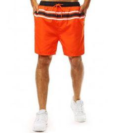 Pomarančové pánske kraťasy Trunks, Swimming, Swimwear, Fashion, Stems, Swim, Bathing Suits, Fashion Styles, Swimsuit