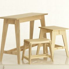 Hall table - flat packed and ply