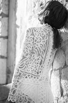 let the 'she is an oracle' dress aid you on your spiritual pilgrimage as you share your truth and wisdom. White Lace Mini Dress, Lace Dress, Holly Brown, Wedding Dress, Boho Life, Needle Lace, Glamour, French Lace, White Long Sleeve