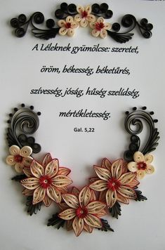 Gal 5 22 23 translation for this bible verse but the fruit of the spirit is love joy peace longsuffering kindness goodness faithfulness gentleness self control against such there is no law quilling by quillingworld decoupage Quilling Photo Frames, Paper Quilling Flowers, Quilling Craft, Quilling Patterns, Quilling Designs, Quilling Ideas, Paper Wall Art, Quilling Techniques, Envelope Design