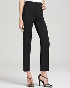 My existing wardrobe's gunna be super jealous when I add these babies to the mix.   Rachel Zoe Pants - Byron Cropped | Bloomingdale's