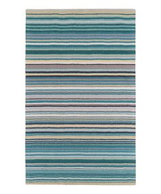 This Teal Mystique Rug is perfect! #zulilyfinds