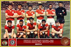 Benfica final Taça Campeões Europeus 1962-1963