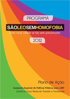 Capa Cartilha São Léo Sem Homofobia