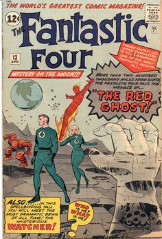 My copy of FANTASTIC FOUR #13.