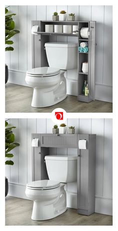 Your bathroom might not seem like a space with big decorating possibilities, but with bathroom furniture and accessories from Overstock, you can create a spa-inspired space that is functional and comfortable for the perfect price. Bathroom Trends, Bathroom Spa, Bathroom Shelves, Bathroom Organization, Bathroom Storage, Small Bathroom, Bathroom Ideas, Bathroom Renovations, Bathroom Beadboard