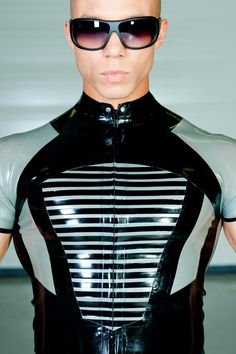 Malicious Latex Shirt by Brigitte More