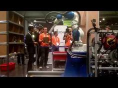 Amazon Picking Challenge 2016 Stow Task Finals - Team Delft - YouTube