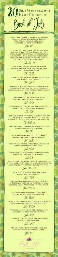 20 Bible Verses that will Inspire You from the Book of Job
