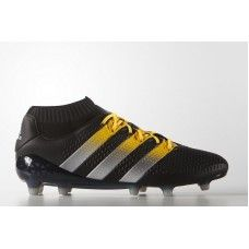 adidas ACE 16.1 Primeknit FG - Core Black Matte Silver Solar Gold cheap  football aa9f86dc04e25