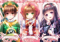 Cardcaptor Sakura, Li Syaoran, Kinomoto Sakura, Daidouji Tomoyo, kempin