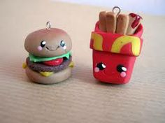 fast food charms!